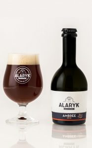 Bière artisanale Alaryk ambrée bio
