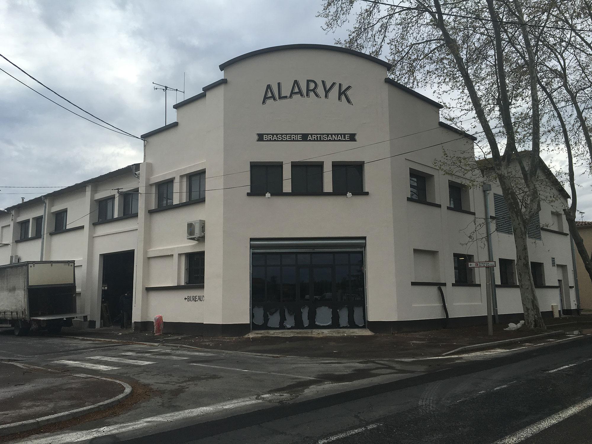 L'avancée des travaux à la brasserie Alaryk