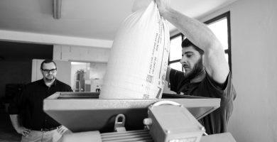 Concassage brasserie artisanale Alaryk