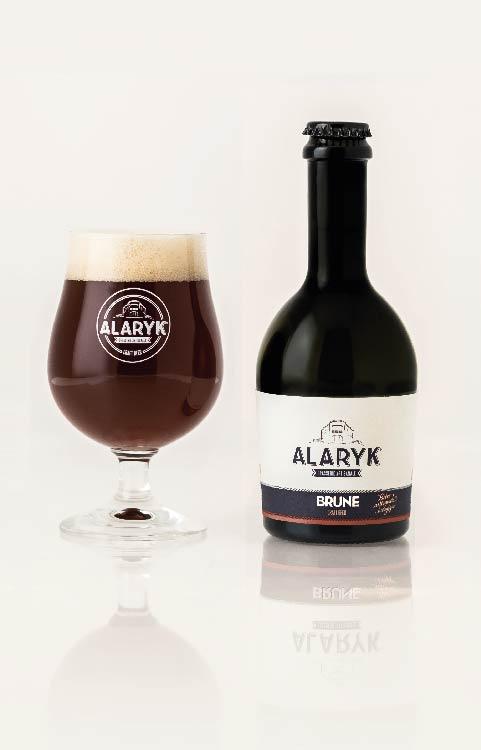 Bière artisanale Alaryk brune bio