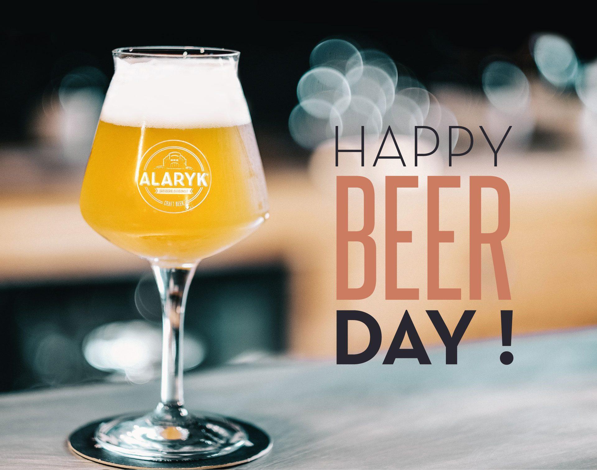 Happy beer day !