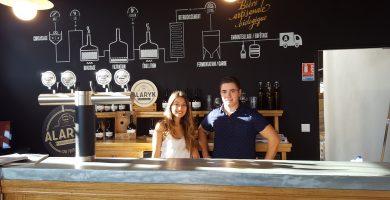 Ornella et Luc rejoignent la Brasserie Alaryk