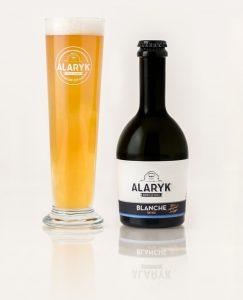 Bière Alaryk artisanale bio, blanche.