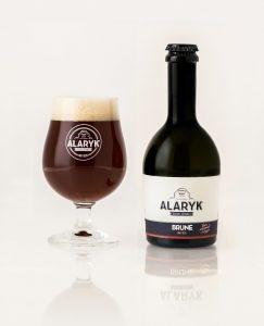 Bière Alaryk artisanale bio, brune.
