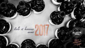 La Brasserie Alaryk vous souhaite ses meilleurs vœux pour 2017 !
