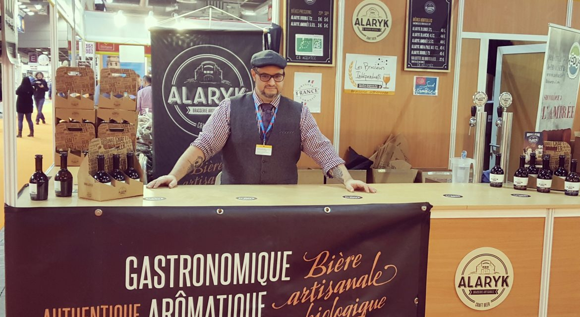 Stand Brasserie Alaryk, bières artisanales biologiques
