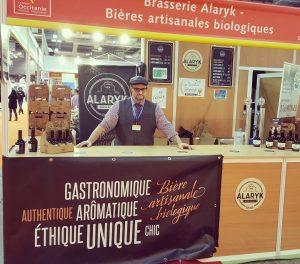 Stand Brasserie Alaryk, bières artisanales biologiques