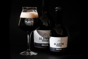 Bière Alaryk artisanale bio,brune.