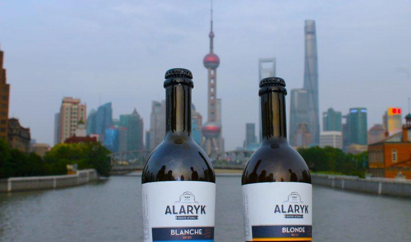 Les bières Alaryk à Shanghai !