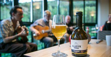 Bière Alaryk artisanale bio, blonde.