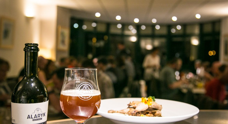 Bière Alaryk artisanale bio, ambrée.