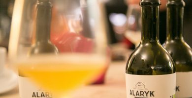 Bière Alaryk artisanale bio, double.