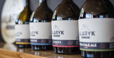 Bouteilles bières bio artisanales Alaryk