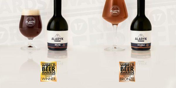 Les bières Alaryk primées aux World Beer Awards 2017 !