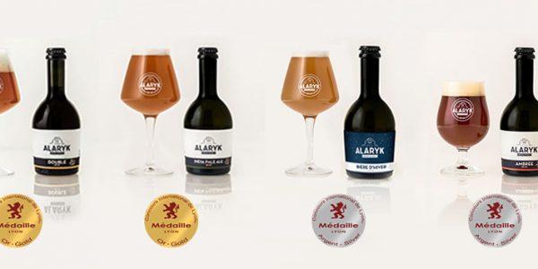 Les bières Alaryk primées au Concours International de Lyon et au France Bière Challenge